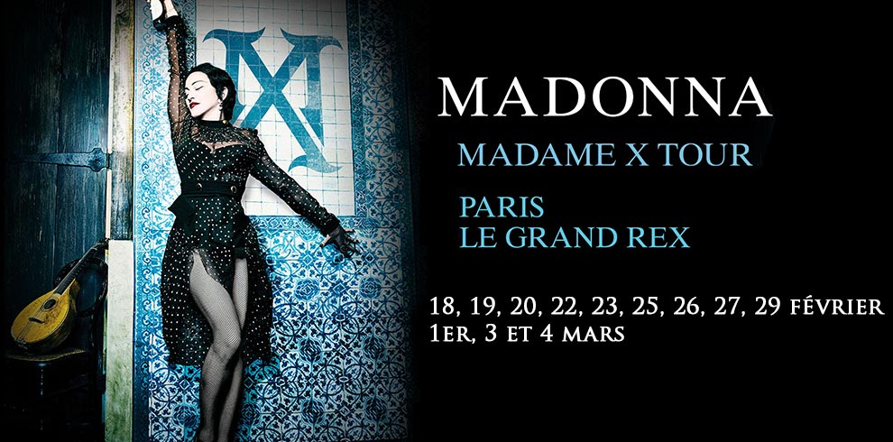 Madame X Tour au Grand Rex - Madonna