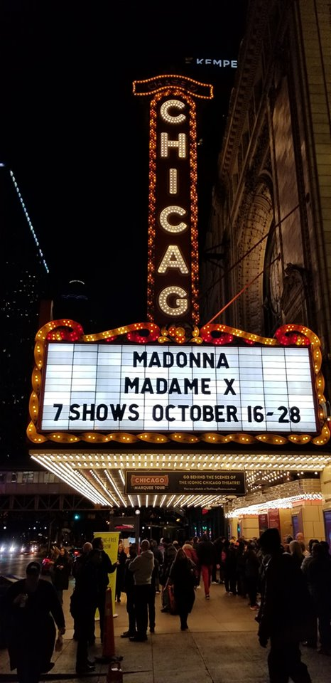 Madame X Tour Chicago