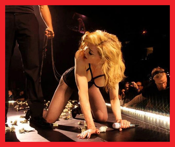 MDNA Tour Love spend