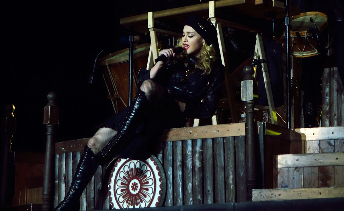 MDNA Tour Open Your Heart