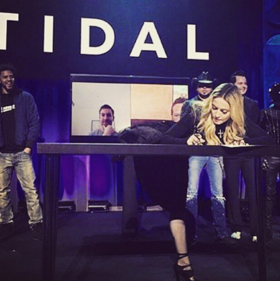 L'année 2015 de Madonna