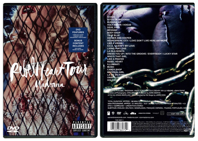 LE DVD DU REBEL HEART TOUR BIENTÔT DISPONIBLE ! (MAJ DU 09/09/16)