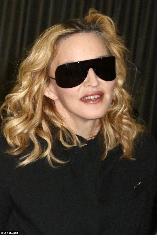 Madonna aperçue à JFK