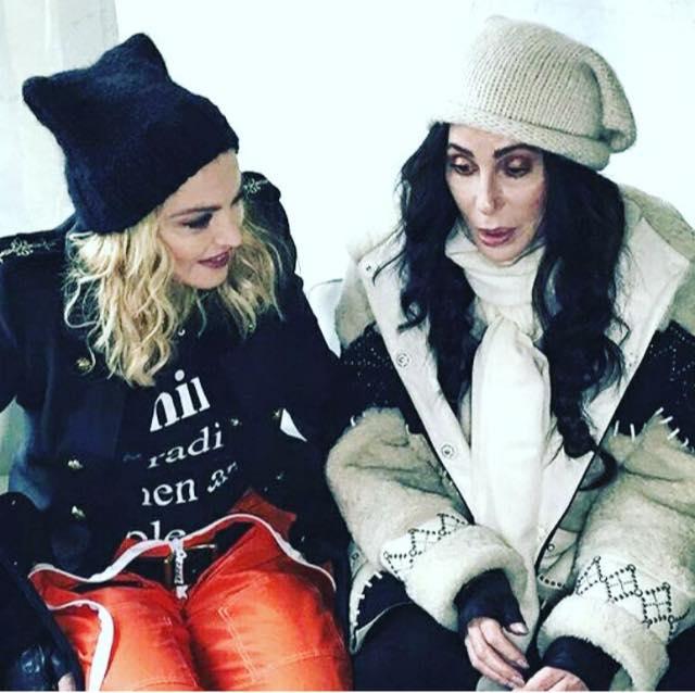 Women's March : Madonna se mobilise pour le droit des femmes