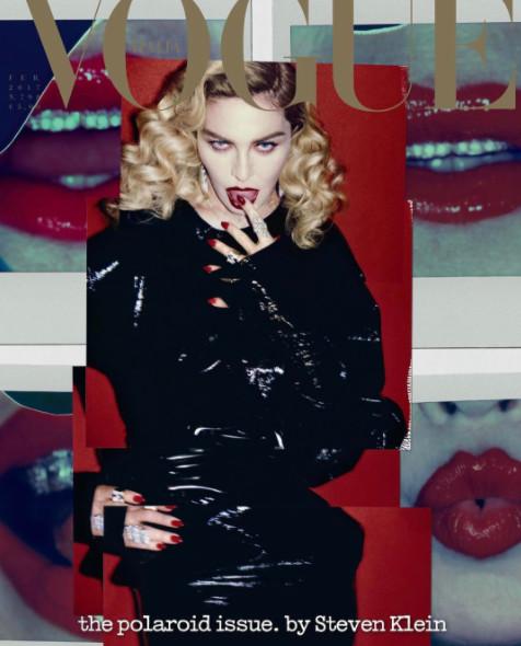 Madonna en cover de Vogue Italia