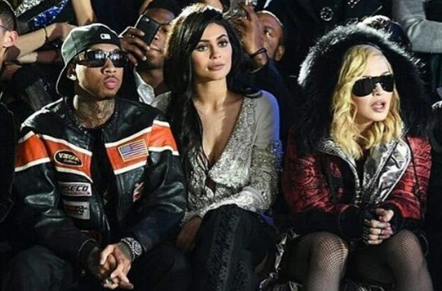 Madonna à la FW de NYC
