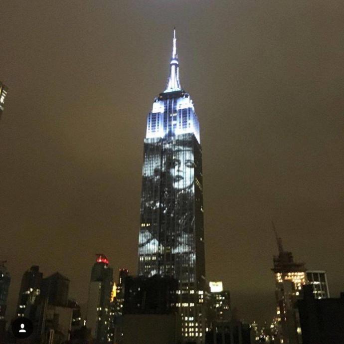 L'Empire State Building version Madonna