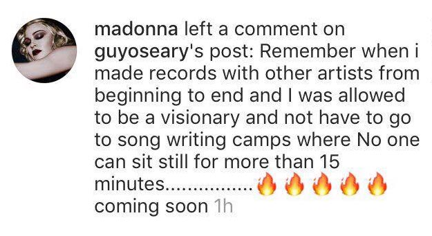 Rebel Madonna sur Instagram