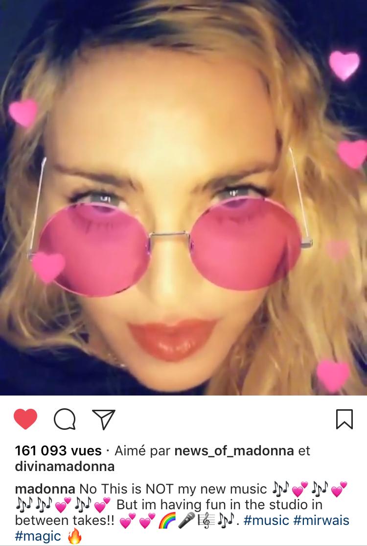 Madonna tag Mirwais (MAJ)