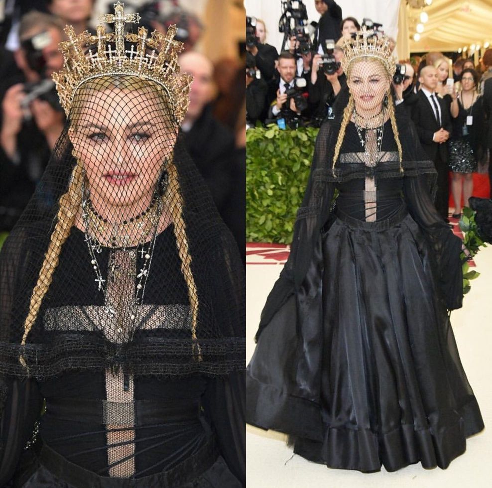 Madonna Met Gala 2018 Performance & Photos