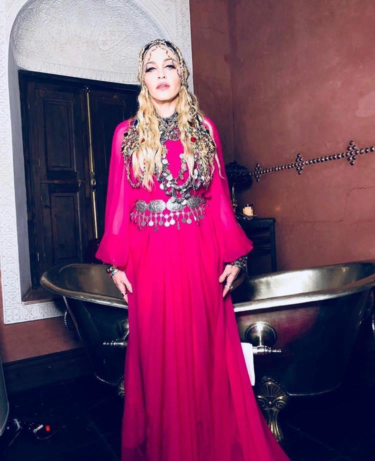 Madonna à Marrakech