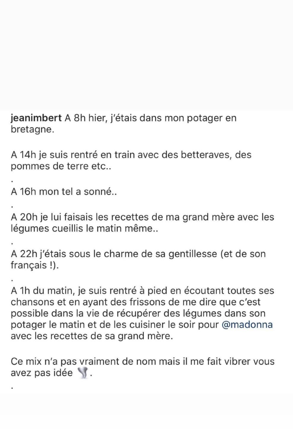 MADONNA A PARIS