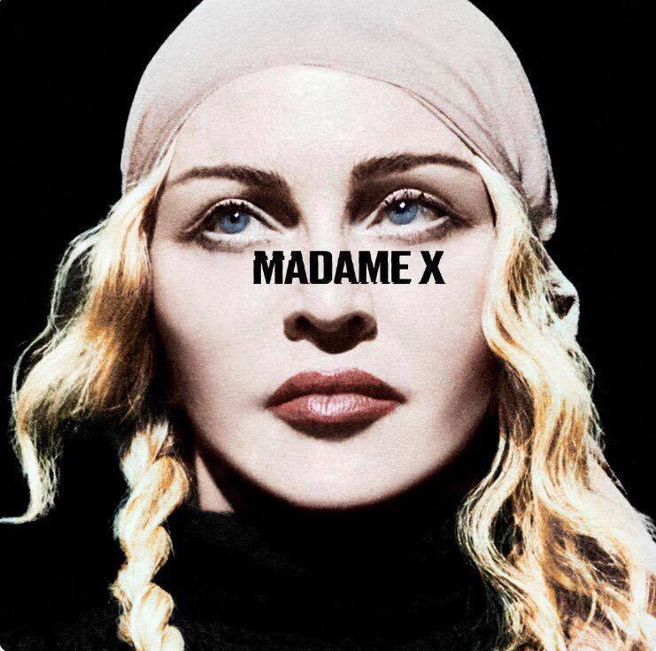 Madame X cover et tracklist ?