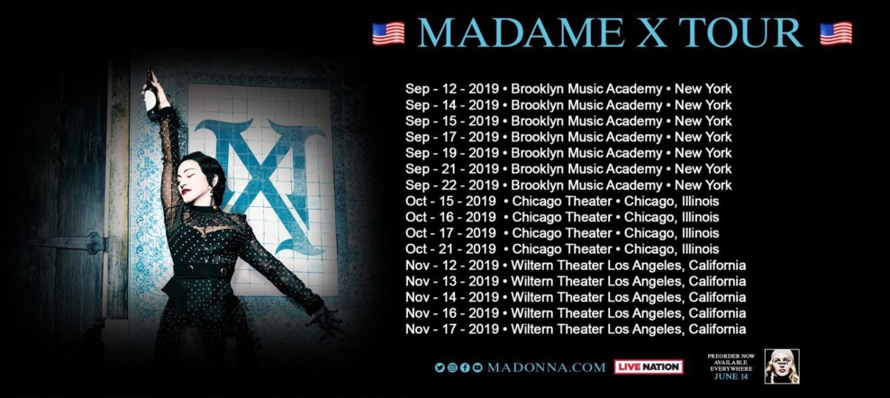 MADAME X TOUR (UPDATE)