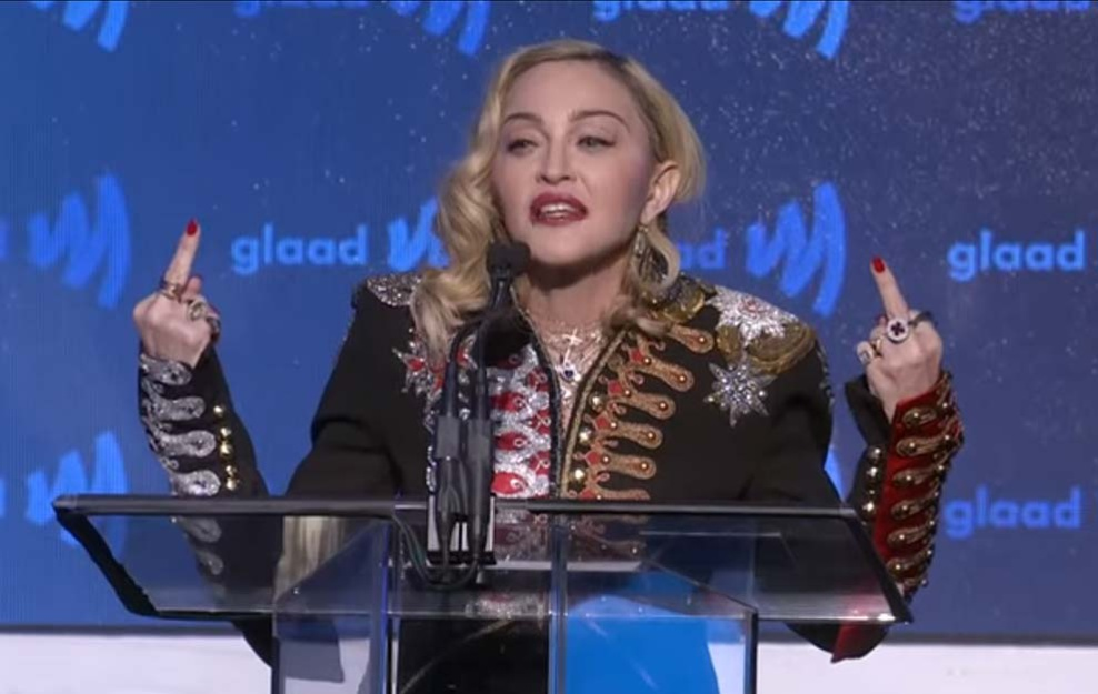 Madonna Glaad Media Awards