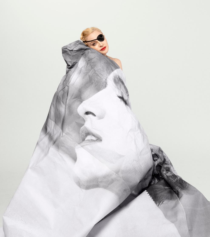 Madonna pour le New York Times