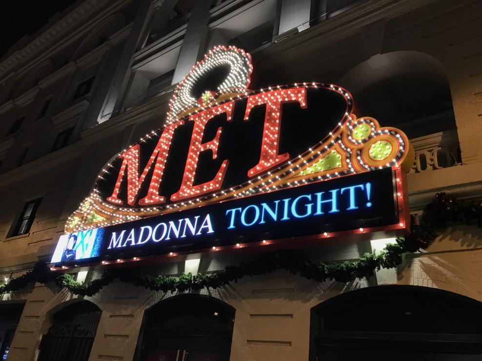 Madame X de retour sur scène