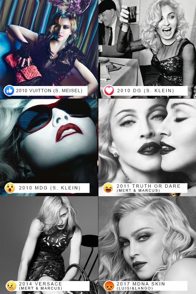 La décennie Madonna