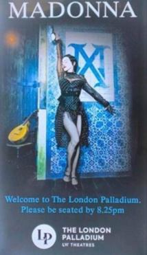 Le 2ème show a Londres écourté