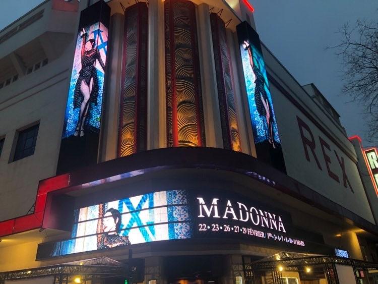 Madame X tour Paris 29 février
