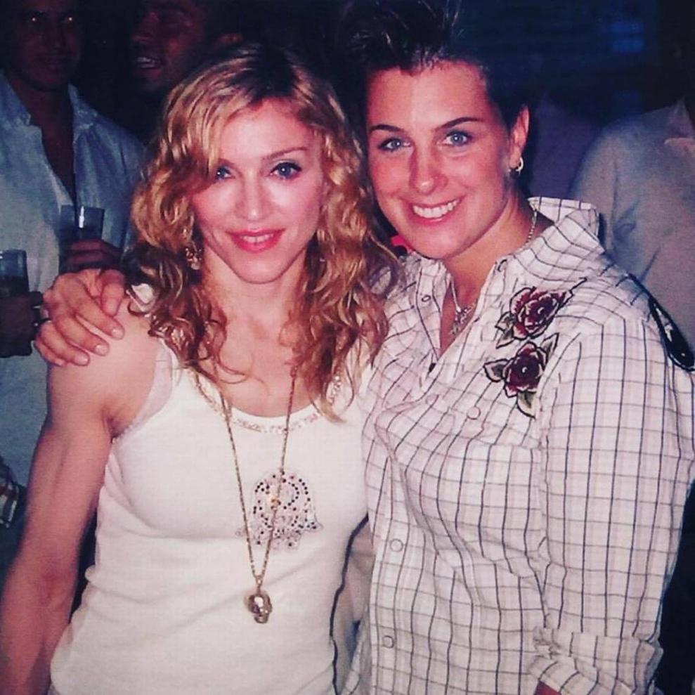 Tracy Young et Madonna au Liquid