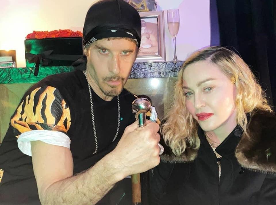 Madonna et Steven Klein le jour de son anniversaire