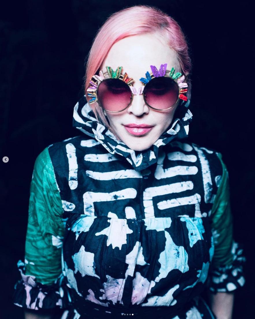 Nouveau look pour Madonna