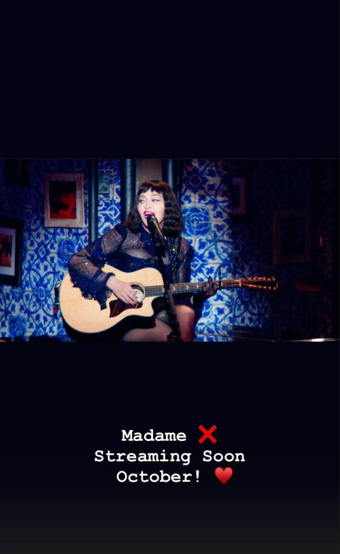 Madame X Tour : streaming en octobre