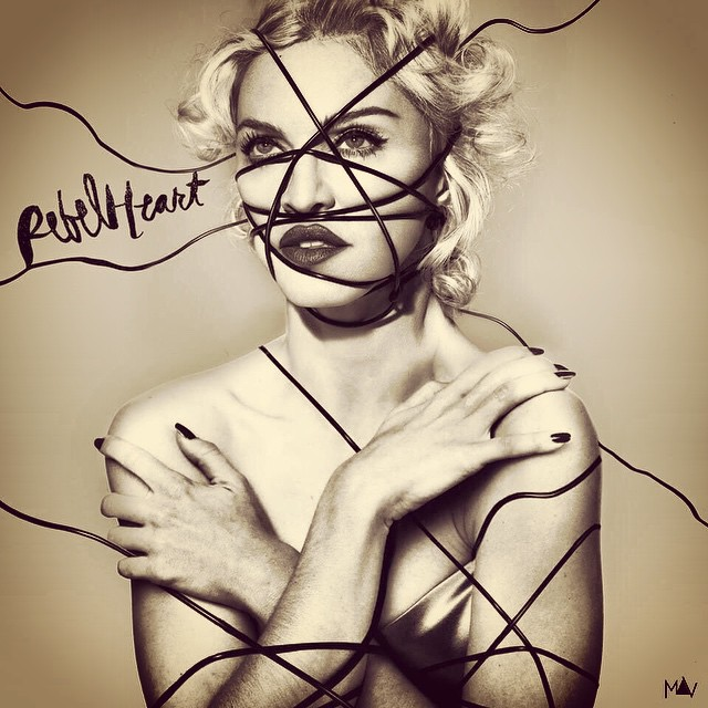 @Madonna #REBELHEART full cover art by @Madonna_art_vision