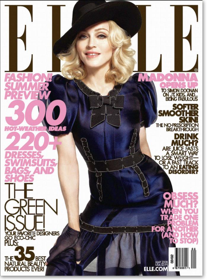 Madonna aux Grammy et ELLE USA en mars ?