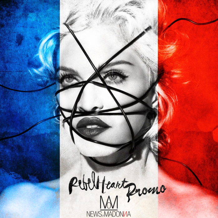 Madonna en France pour la promo de Rebel Heart