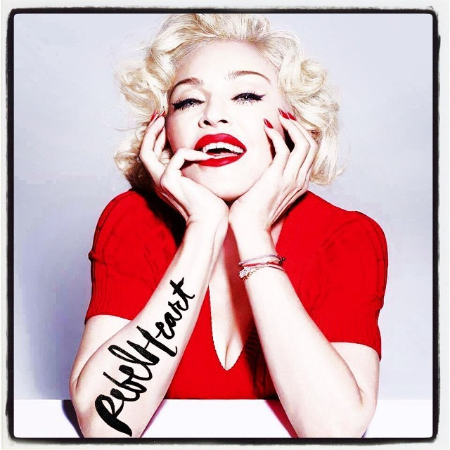 Madonna : Rebel Heart photoshoot