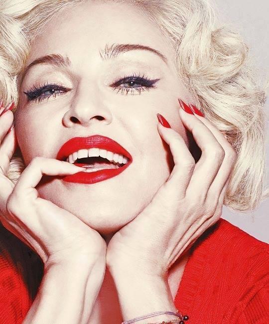 Madonna : Rebel Heart photoshoot