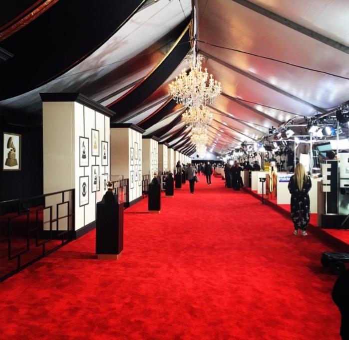 Le tapis rouge des Grammy's en direct