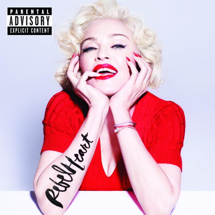 Rebel Heart : Cover Super deluxe édition dévoilée