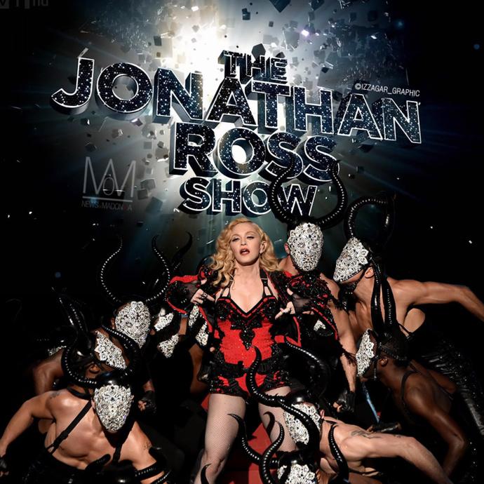 Madonna le 14 mars sur ITV