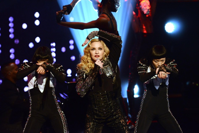 Madonna's live performance at Jonathan Ross Show