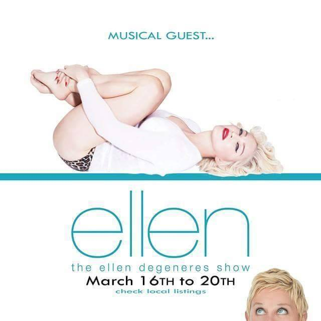 "#Madonnaweek on "" The Ellen Show"""