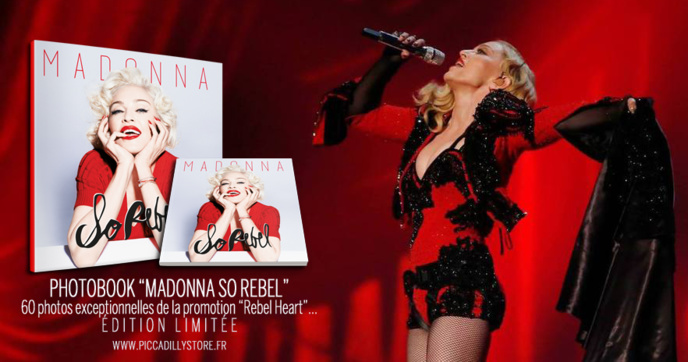 """MADONNA SO REBEL"" : PhotoBook"