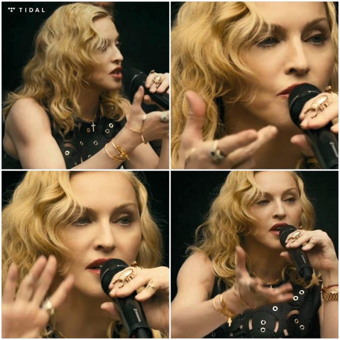 #TIDALforALL with Madonna
