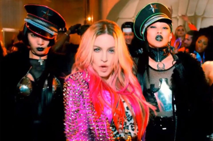 Billboard Dance club chart : bitch she's Madonna
