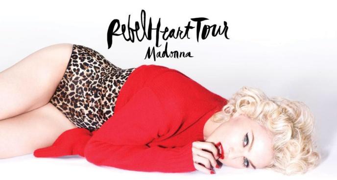 Les entrées de Madonna sur scène