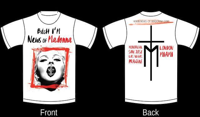 Rebel Heart Tour T-shirt by NOM