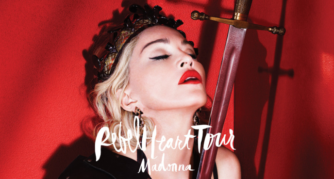 La set-list du rebel heart tour : ce que l'on sait
