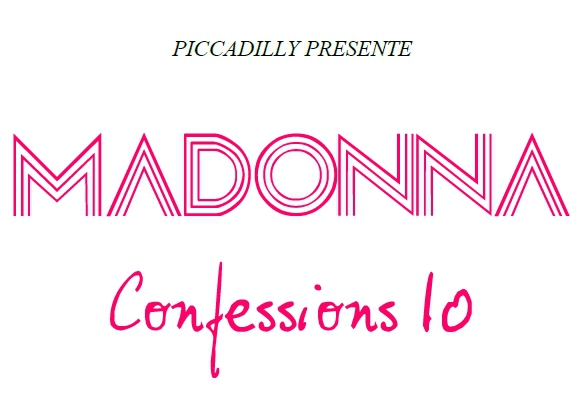 "New  : ""MADONNA CONFESSIONS 10"""