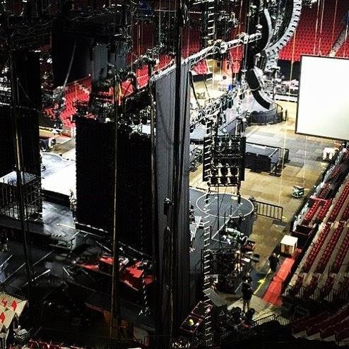 Rebel Heart Tour : La scène