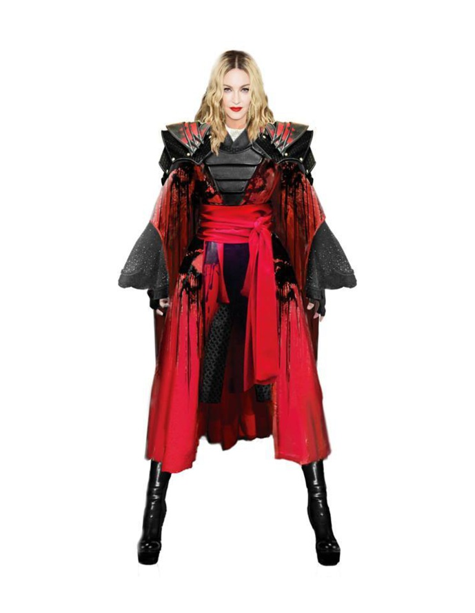Rebel Heart Tour : Les Costumes !