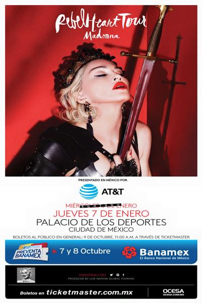 Rebel Heart Tour : Mexico #2