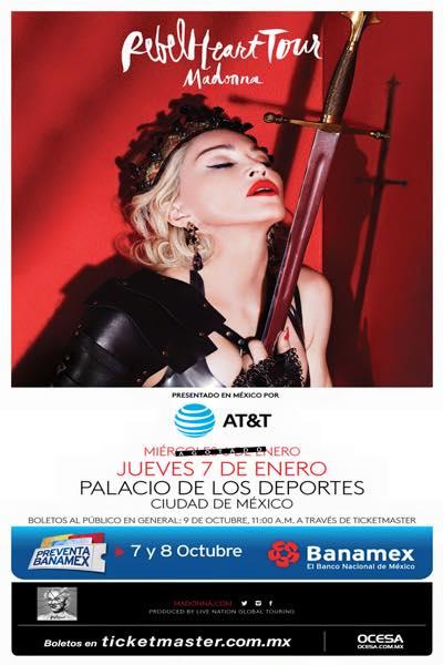 Rebel Heart Tour : Mexico #2