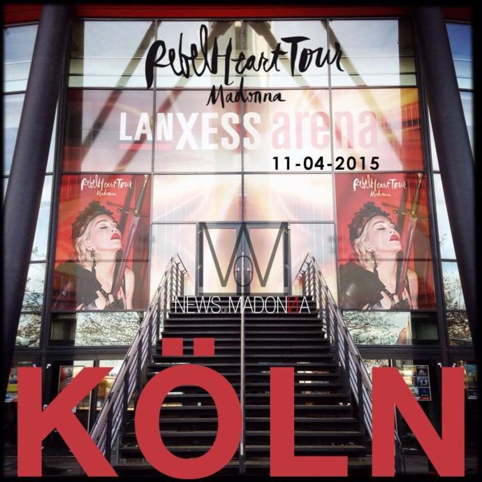 REBEL HEART TOUR : COLOGNE 4 & 5 NOVEMBRE